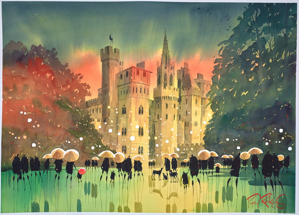 Castle Brollies - Cardiff